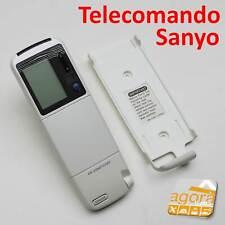 TELECOMANDO SANYO RCS-2GHS ARIA CONDIZIONATA CLIMA X CONDIZIONATORE REMOTE TIMER
