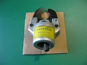 GREENLEE 751 HYDRAULIC CABLE CUTTER