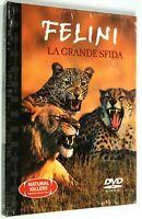 DVD FELINI LA GRANDE SFIDA 2006 Documentario SIGILLATO