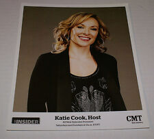 "KATIE COOK #2 CMT INSIDER HOST OFFICIAL 8""X10"" PROMOTIONAL PICTURE RARE HTF OOP"