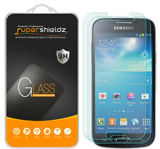2X Supershieldz Tempered Glass Screen Protector Saver For Samsung Galaxy S4