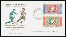 Mayfairstamps Mali 1970 Soccer Telecommunications first Day Cover wwf98941