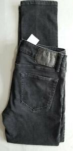 AMERICAN EAGLE AEO Men Next Level Flex Skinny Cotton Denim Jean - 30x30 Black