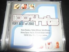 100% Hits Best Of 2002 Various CD Kylie Minogue Coldplay Britney Spears Moby & M
