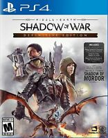 Middle-Earth: Shadow of War - Definitive Edition PS4 Brand New