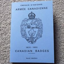 Book: WW2 Illustrated Cap Badges of the Canadian Army Booklet - Canada CEF