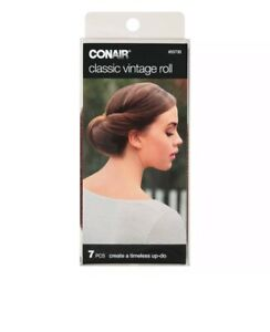 ConAir Classic Vintage Roll to Create a Timeless Up-Do