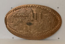 South Station Subway Station Boston Skyline Elongated Pressed Penny Copper