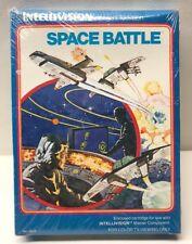 Vintage Intellivision Intelligent Television Space Battle Game Sealed New
