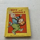 Toys and Animals The Little Color Classics Book Children Vintage 1938