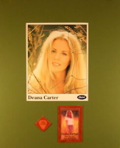 DEANA CARTER 1997 DID I HAVE TO SHAVE MY LEGS FOR THIS? MATTED POSTER /PICK PASS