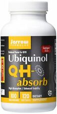 Jarrow Formulas Ubiquinol QH-absorb 100 mg 120 softgels exp 2021-2022