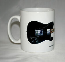 Guitar Mug. Keith Richards' Fender Telecaster Custom Illustration.