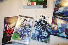 Sony PSP   Portable  Spiel P3P Persona 3 Limit. Sammler Edition.Top Zustand