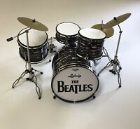 The Beatles Miniature Replica Drum Kit Brand New