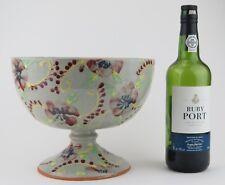 Studio Pottery. Peter Fishley Holland slipware pedestal fruit bowl