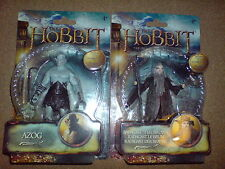 "THE HOBBIT-THE DESOLATION OF SMAUG-3.75""AZOG+RADAGAST W2 ACTION FIGURE NEW LAST1"