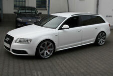 AUDI A6 C6  S-LINE LOOK SIDE SKIRTS / SIDE BAR NEW
