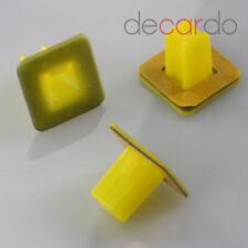 10X para Opel GM 97583397 Clips Soporte Fijación Con Lámina Adhesiva
