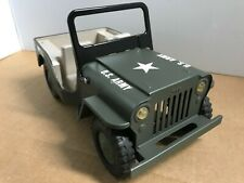 tonka jeep u.s. army