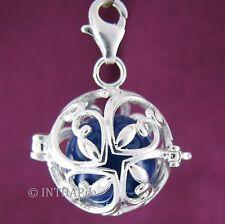 Markenloser Echtschmuck aus Sterlingsilber mit Glück-Halsketten und Anhänger