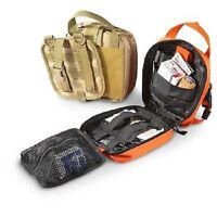 NEW Military Tactical EMT Medical 1st Responder Rip-Away MOLLE Gear Pouch TAN