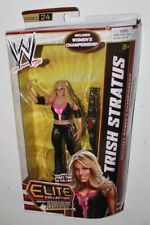 WWE Trish Stratus Mattel Elite Action Figure Series 24 Title Belt WWF Wrestling