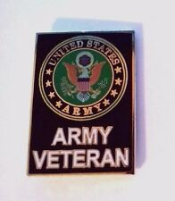 United States Army Veteran Hat Pin 1 1/8""