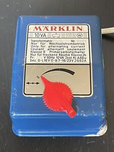 Marklin Train Transformer 6450 110V 50Hz 10VA Made in Western Germany