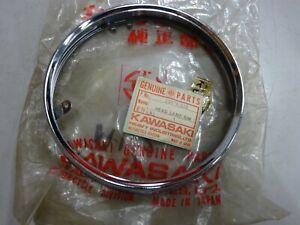 KAWASAKI NOS HEADLIGHT RIM 23006-022 European Spec H1 H1A H1B A1 A7 A1SS A7SS