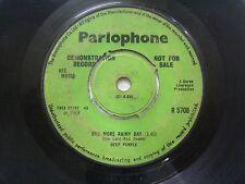 "Deep Purple Hush Single R5708 1968 7"" DEMO PROMO Parlophone UK Orig mega rare VG"