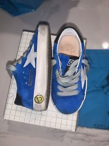 New Auth Golden Goose Sneakers kids Boys Fashion Sneakers Shoes Blue 22 6 $290