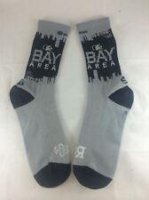 """Bay Area """"Raider Nation"""" socks (Mens, SM, Blk)"""