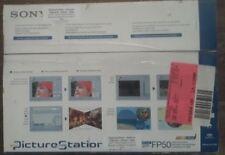 OPEN BOX Sony Picture Station - Digital Photo Printer DPP-FP50,UPC- 027242678583