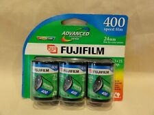 New listing Fuji 400 speed film 25 exposure 3 pack 24mm