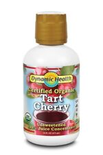 Dynamic Health Tart Cherry Juice Concentrate 100% Pure 473ml (Pack of 4 Bottles)