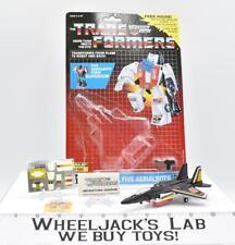 Air Raid Superion IRON-ON PATCH VT W/ BUBBLE NR MINT FIGURE G1 Transformers