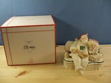 Lenox Fireplace Collection Porcelain Santa Figurine - Brand New in Box