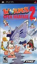 Worms: Open Warfare 2 (Sony PSP, 2007)  TESTED   COMPLETE   FAST SHIPPING !!