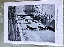 a2c ephemera ww2 picture british army 1942 scaling a reservoir