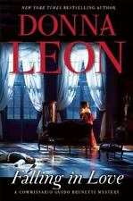 Falling in Love by Donna Leon (2015, Hardcover)