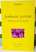 Juvenile Justice: Youth and Crime in Australia! Book by Chris Cunneen!