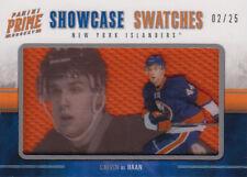 11-12 Panini Prime SHOWCASE SWATCHES xx/25 Made! Calvin De HAAN #54 - Islanders
