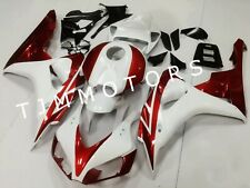 For CBR1000RR 2006 2007 ABS Injection Mold Bodywork Fairing Kit Panel Red White