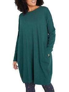 EX SEASALT Green Whitesands Bay Dress Sizes 8, 12, 14, 16, 22, 24, 26/28 RRP £55