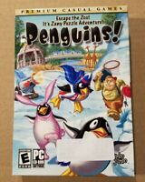 Penguins!Video Game PC  NEW SEALED Box