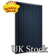 210W Scheuten All Black Used Solar Panel - P6-54 Bargain Price £85