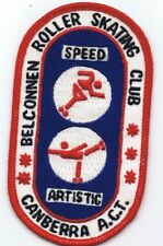 Belconnen Roller Skating Club Souvenir Embroidered SewOn Cloth Patch Badge