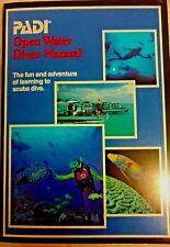 New listing Padi 1990 Open Water Diver Manual
