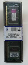 Kingston ValueRAM KVR333X64C25/1G System Memory 1GB 184-Pin PC 2700